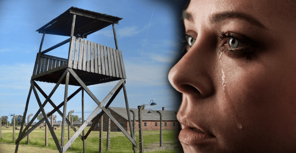 Tears at Auschwitz… Out of unbearable sadness comes joy