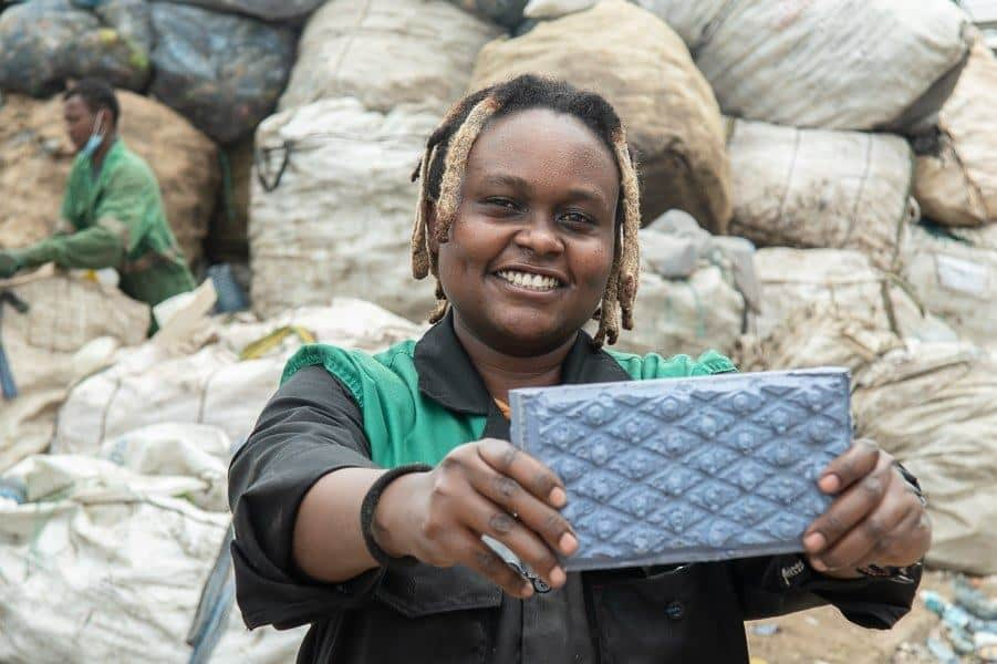 The extraordinary story of Nzambi Matee who learned to make something out of nothing